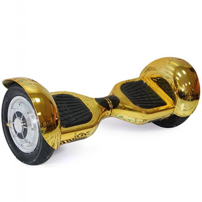 Гироскутер Smart Balance Wheel Offroad 10 Сhrome Gold Хромированный Золотой