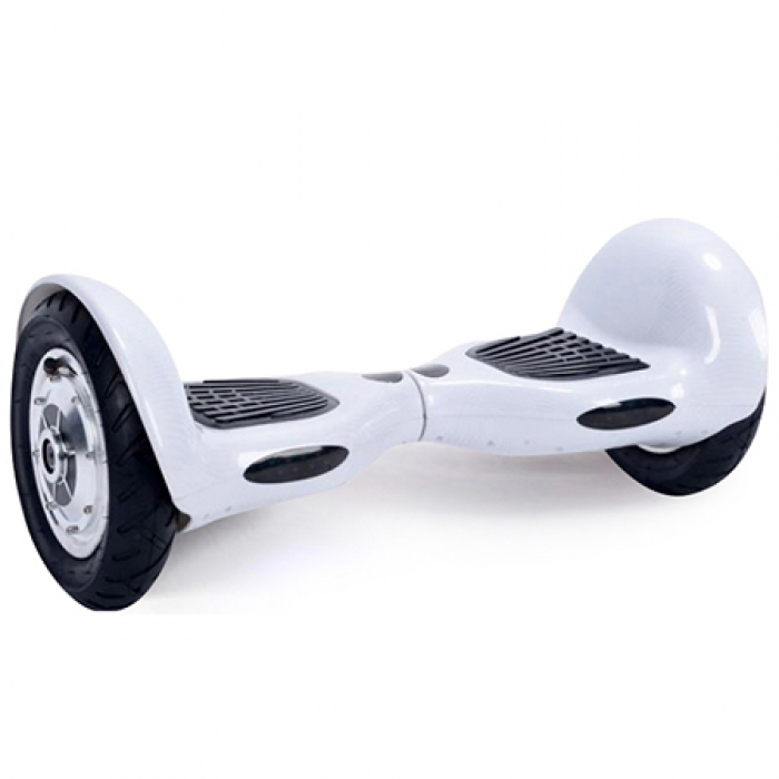 Гироскутер Smart Balance Wheel Offroad 10 Carbone White Карбон Белый