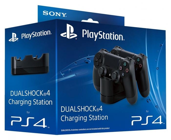 Зарядная станция Sony PlayStation DualShock 4 Charging Station на 2 геймпада Dualshock 4 (ps4)