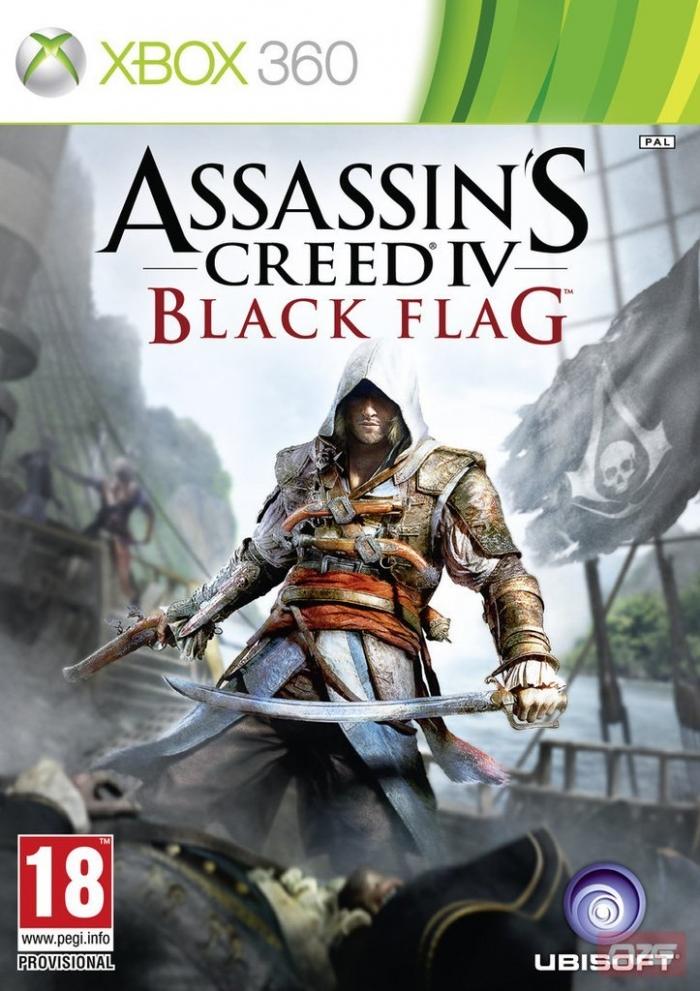 Assassin's Creed 4 Чёрный флаг (Бывшего употребления) (Xbox 360)