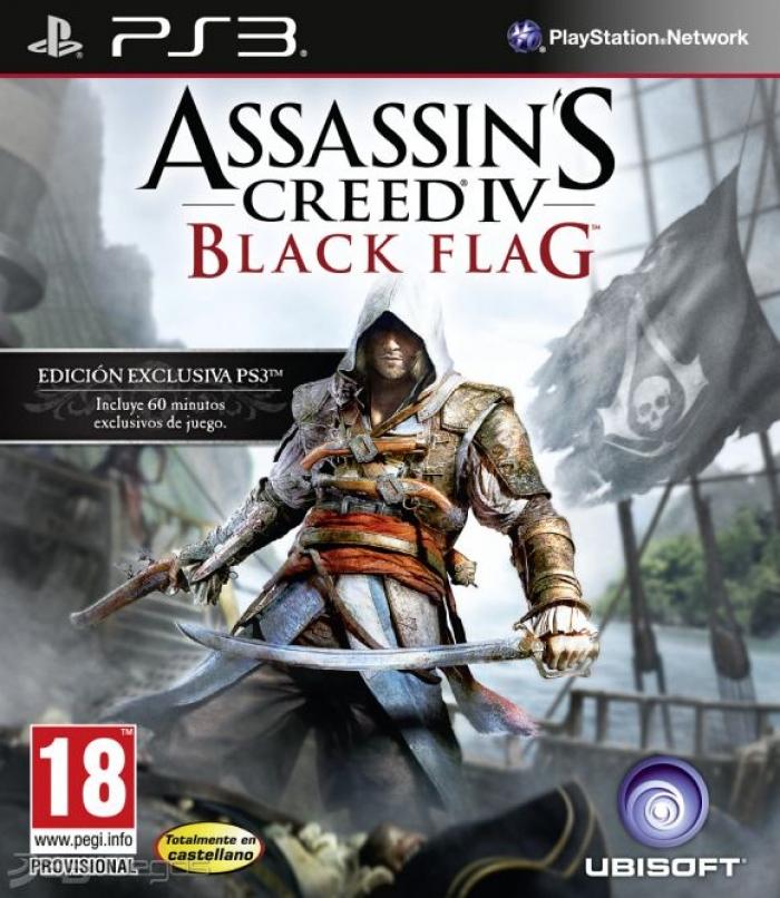 Assassin's Creed 4 Чёрный флаг (ps3)