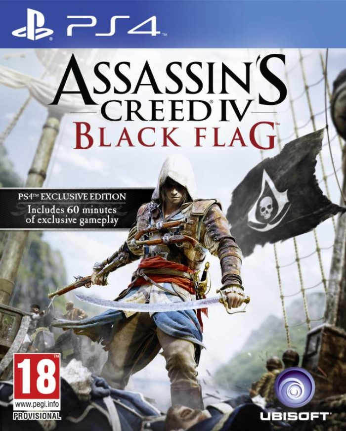 Assassin's Creed 4 Чёрный флаг (ps4)