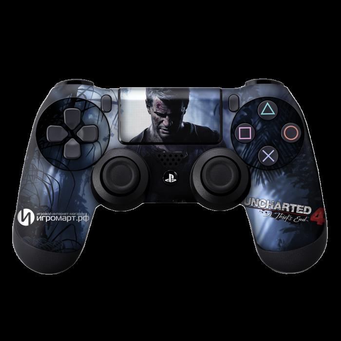 Uncharted 4 - Наклейка на PlayStation 4 (ps4)