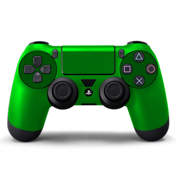 Наклейка на Dualshock 4 Monochrome Green Зеленая (ps4)