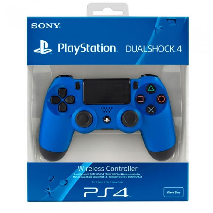 Геймпад Sony Dualshock 4 Blue (ps4) (Синий)