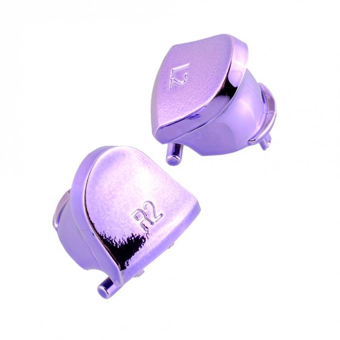 Набор кнопок для Dualshock 4 Original Chrome Purple (Хромированные Фиолетовые) (Playstation 4) (ps4)