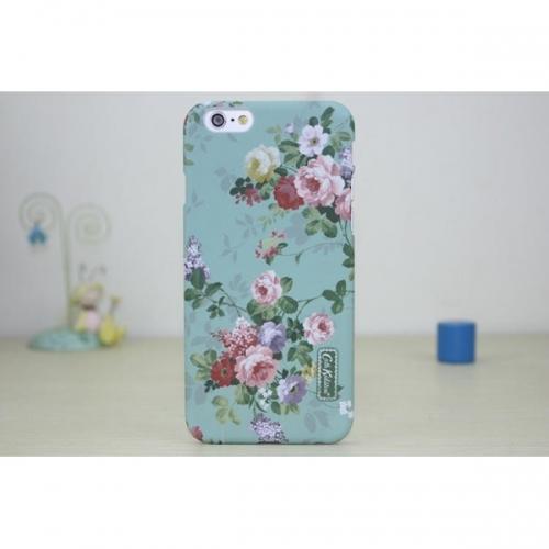 Пластиковый Чехол-накладка Кэт Кидстон для iPhone 6 Розы на мятном фоне