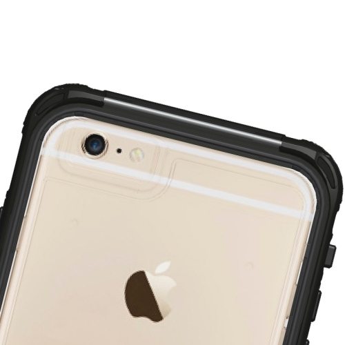 Водонепроницаемый и противоударный чехол Armor из ABS пластика для iPhone 6 (чёрный)