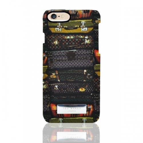 Пластиковый Чехол-накладка Ted Baker для iPhone 6 Чемоданы
