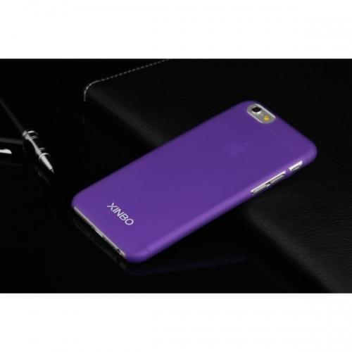 Пластиковый Чехол-накладка Xinbo 0,5 мм для iPhone 6 Фиолетовый