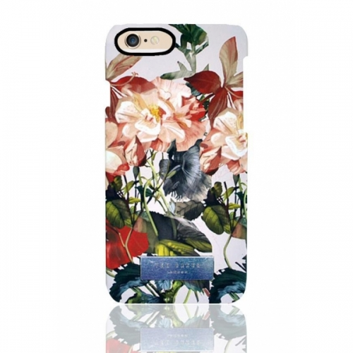 Пластиковый Чехол-накладка Ted Baker для iPhone 6 Цветы 2