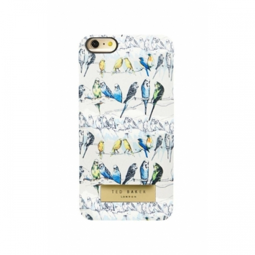 Пластиковый Чехол-накладка Ted Baker для iPhone 6 Попугаи 3