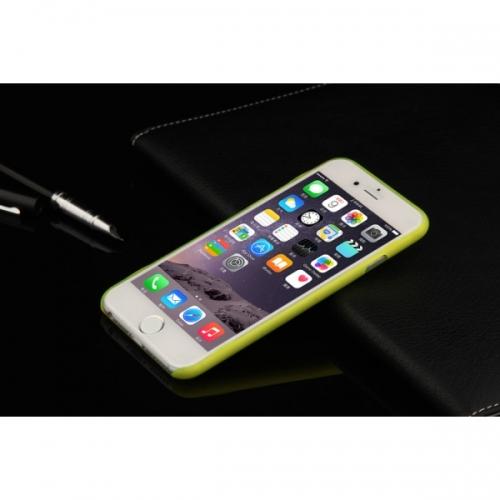 Пластиковый Чехол-накладка Xinbo 0,5 мм для iPhone 6 Желтый
