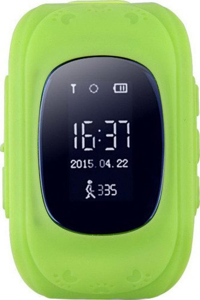 Умные Часы с GPS Smart Watch Q50 Classic Green Зеленые