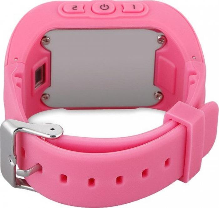 Умные Часы с GPS Smart Watch Q50 Classic Pink Розовые
