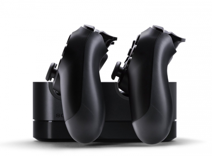 Зарядная станция Sony PlayStation DualShock 4 Charging Station на 2 геймпада Dualshock 4 (ps4)