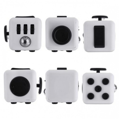 Антистресс кубик Fidget Cube питчер (Белый)