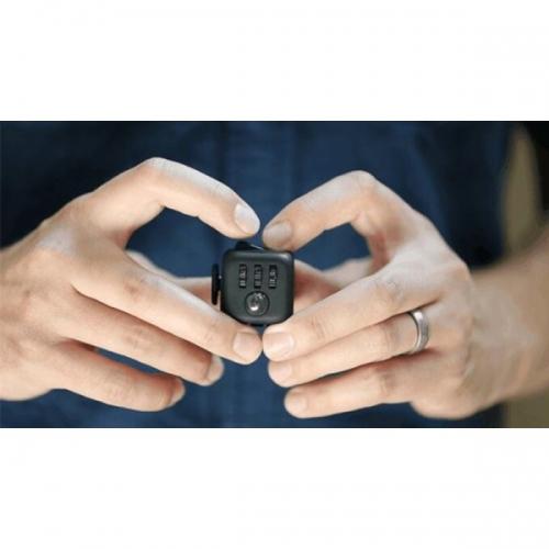 Антистресс кубик Fidget Cube питчер (Черный)