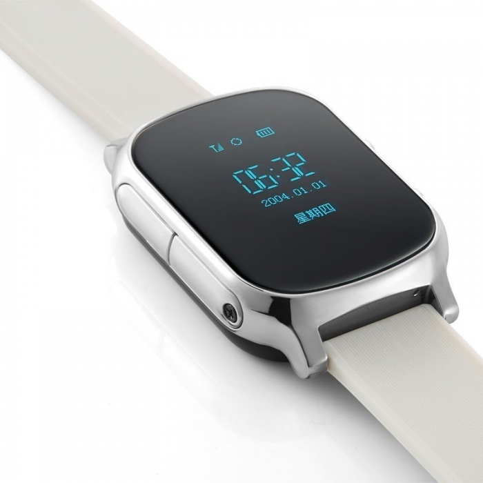 Умные Часы с GPS Smart Watch NEO T58 Silver Серебро