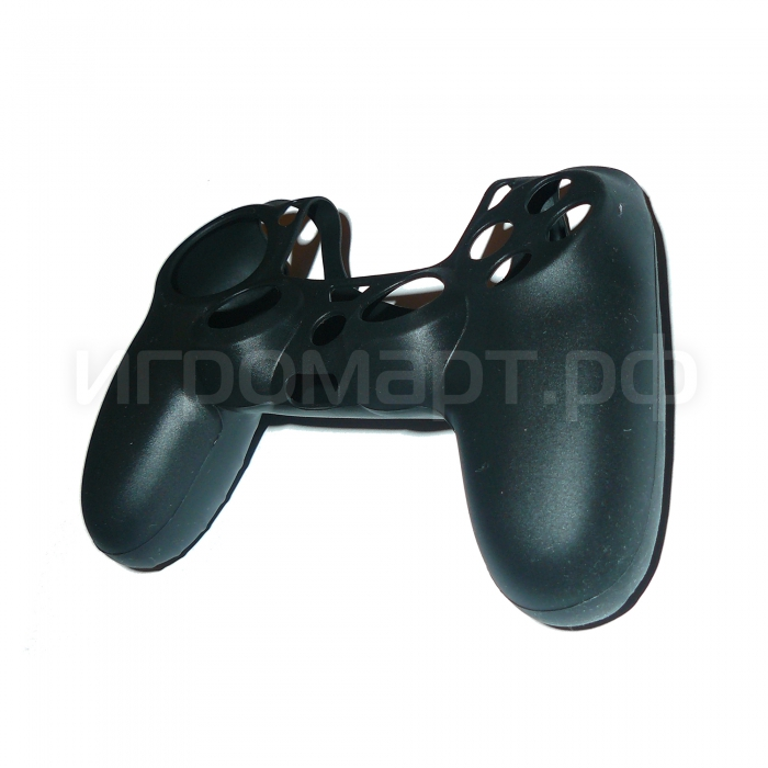 Чехол для Dualshock 4 Silicone Cover Black черный силиконовый (ps4)