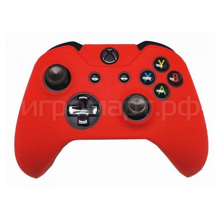 Чехол для геймпада Xbox One Silicone Cover Red красный силиконовый (xone)