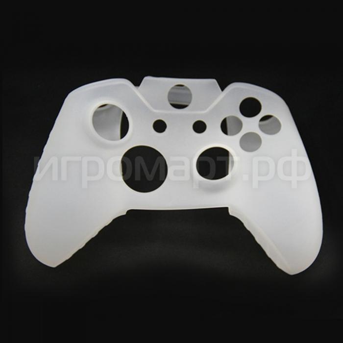 Чехол для геймпада Xbox One Silicone Cover White белый силиконовый