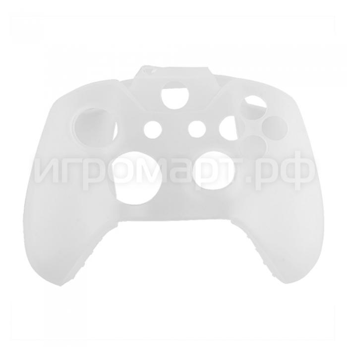 Чехол для геймпада Xbox One Silicone Cover White белый силиконовый (xone)