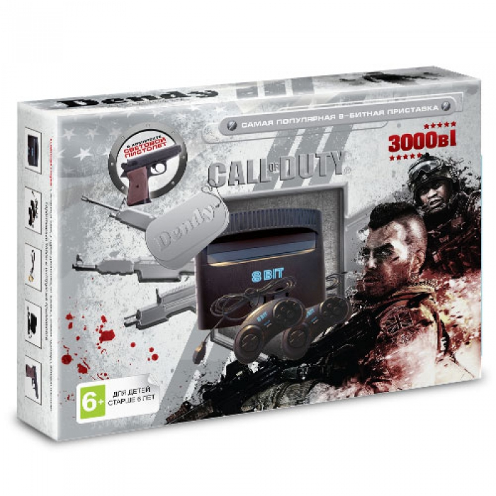 Dendy Call of Duty Ghost 3000-in-1 (8bit)