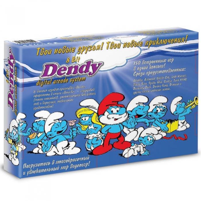 Dendy Смурфики 150-в-1 (8bit)