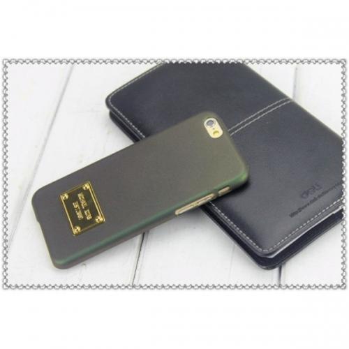 Пластиковый Чехол-накладка софттач Michael Kors для iPhone 6 Зеленый