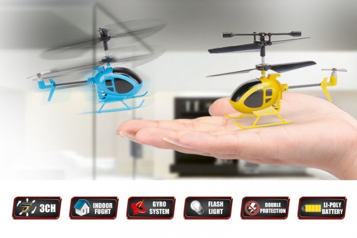 Радиоуправляемый вертолет Syma S6 3CH Nano 2.4G