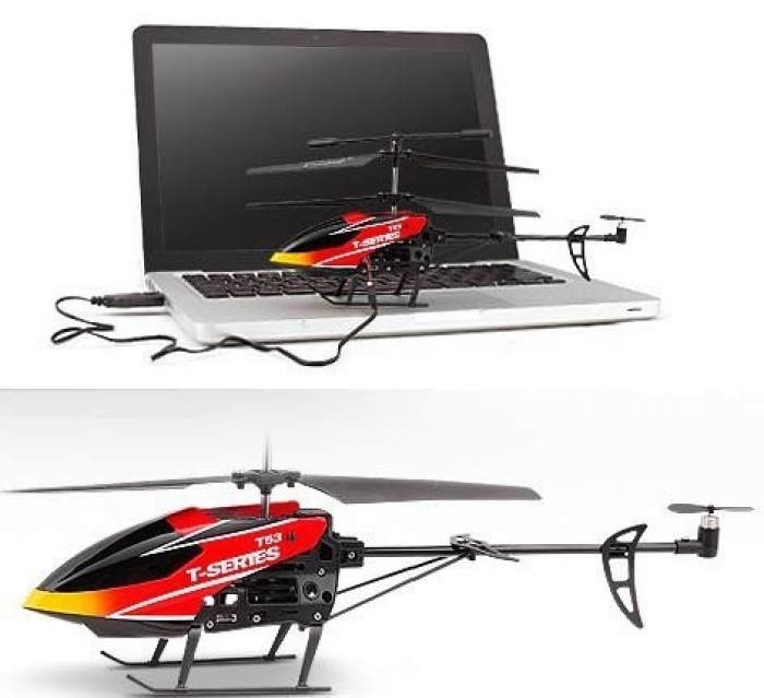 Радиоуправляемый вертолет MJX i-Heli T53 T-Series ИК-управление