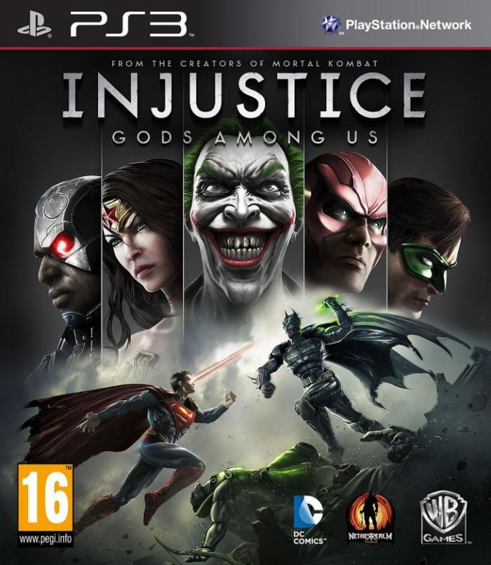 Injustice: Gods Among Us (Бывшего употребления) (ps3)