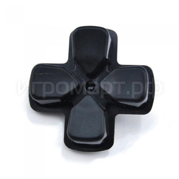 Крестовина для Dualshock 4 Original Strong Black Черная оригинальная (ps4)