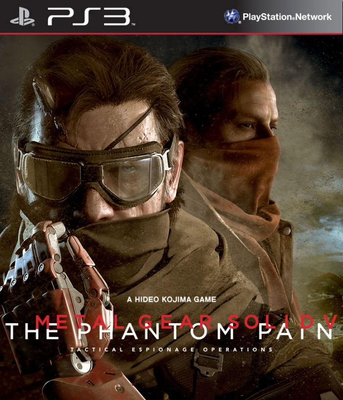 Metal Gear Solid V The Phantom Pain (ps3)