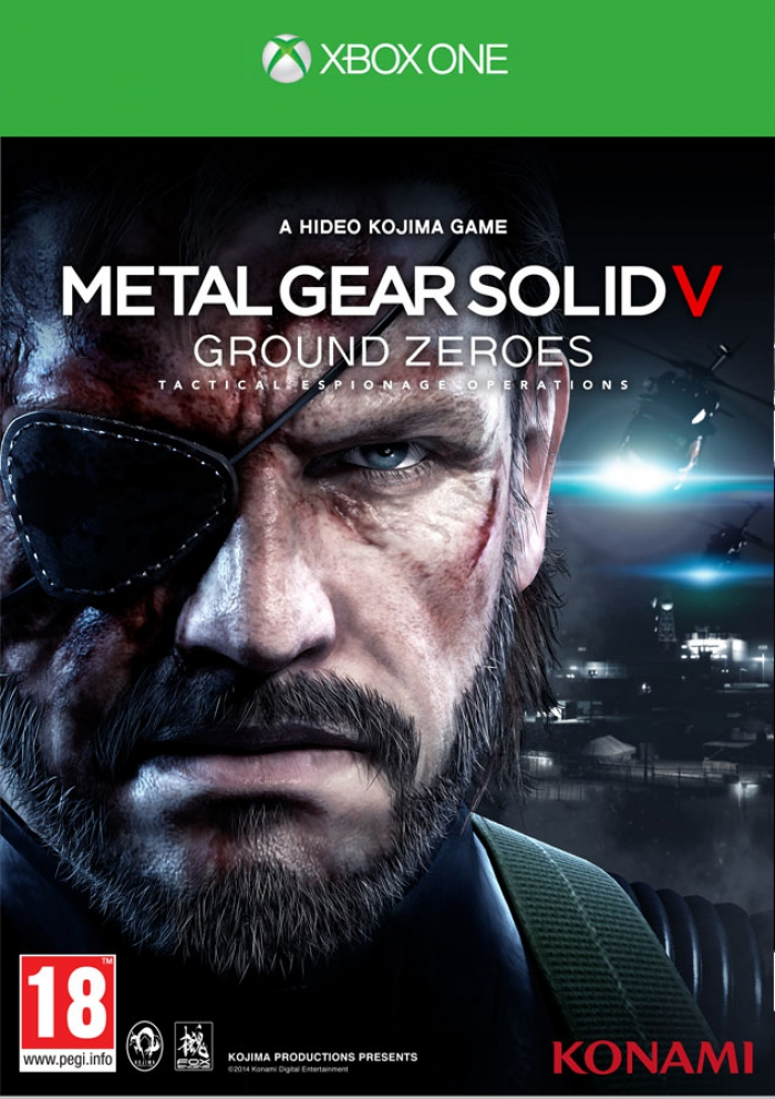 Metal Gear Solid V Ground Zeroes (xone)