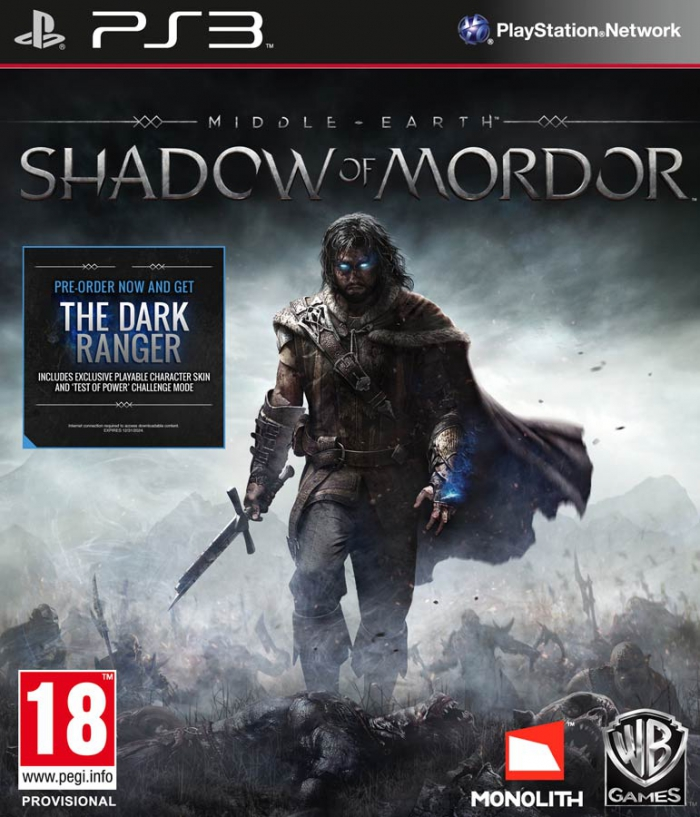 Middle-earth Shadow of Mordor (Средиземье: Тени Мордора) (ps3)