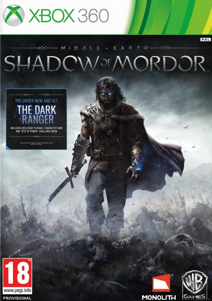 Middle-earth Shadow of Mordor (Средиземье: Тени Мордора) (Xbox 360)