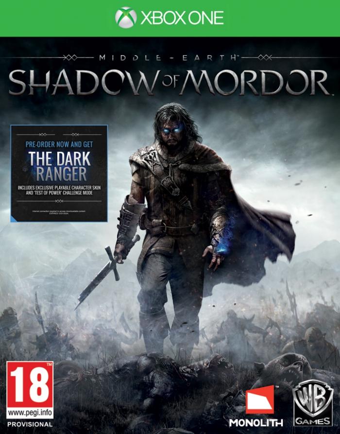 Средиземье: Тени Мордора (Middle-earth Shadow of Mordor) (Xbox One)