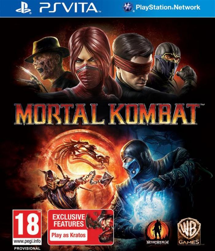 Mortal Kombat Komplete Edition (PS Vita)