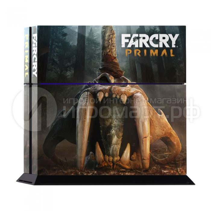 Far Cry Primal Art 1 - Наклейка на PlayStation 4 (ps4)