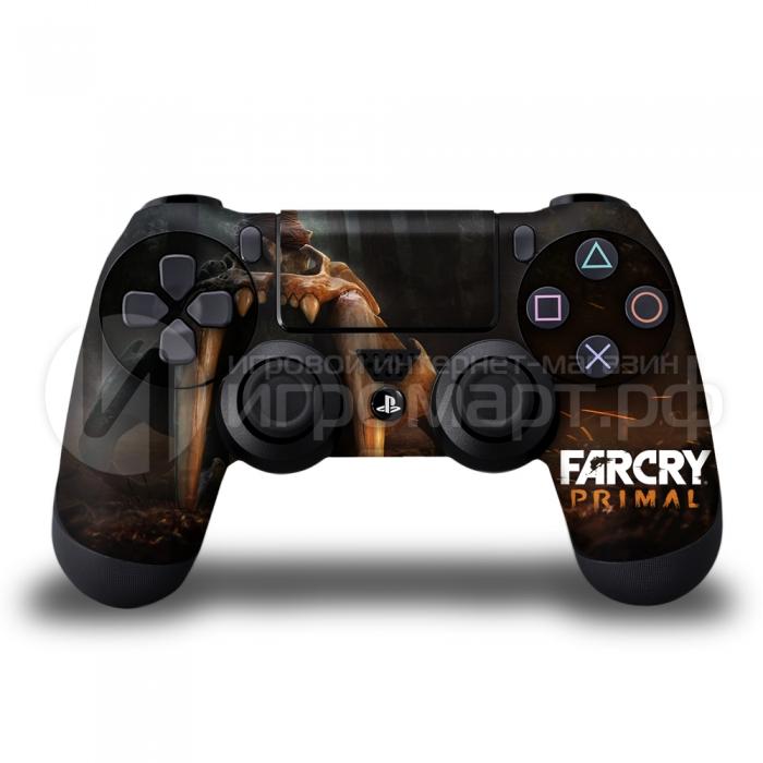 Far Cry Primal Art 1 - Наклейка на PlayStation 4 (ps4)