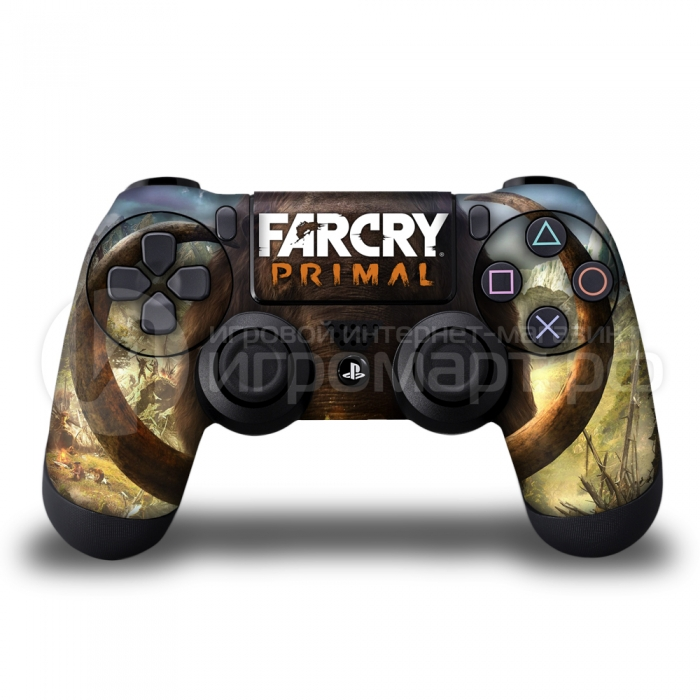 Far Cry Primal - Наклейка на PlayStation 4 (ps4)