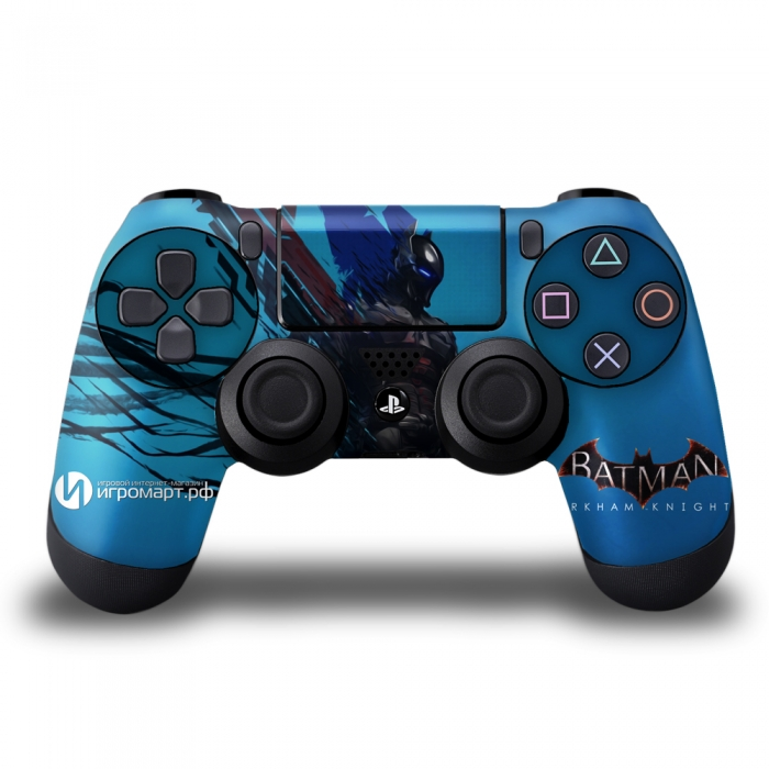 Batman Arkham Knight Art 1 - Наклейка на PlayStation 4 (ps4)