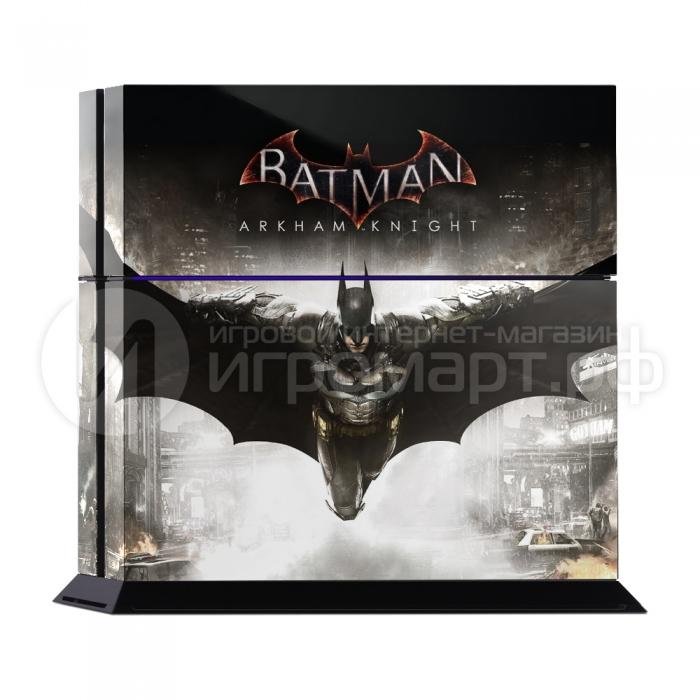 Batman Arkham Knight - Наклейка на PlayStation 4 (ps4)