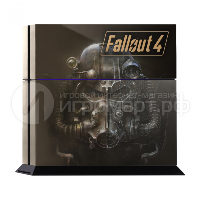 Fallout 4 - Наклейка на PlayStation 4 (ps4)