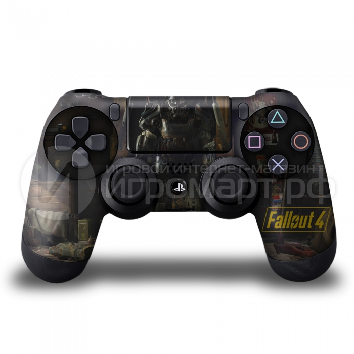Fallout 4 - Наклейка на PlayStation 4 (ps4)