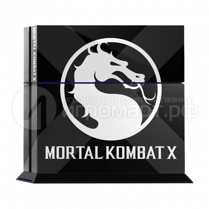Mortal Kolmbat X - Наклейка на PlayStation 4 (ps4)