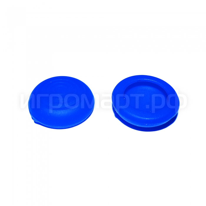 Насадки на стики Sniper Blue Синие силиконовые
