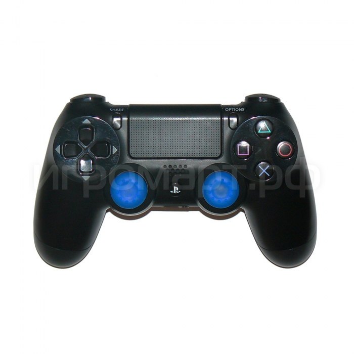 Защитные насадки Thumb Grips для геймпадов Blue Синие
